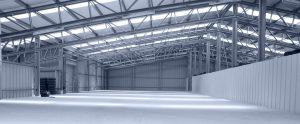 Kingsley Roofing industrial sheeting