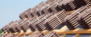 Kingsley Roofing banded tiles on felted and battened roof